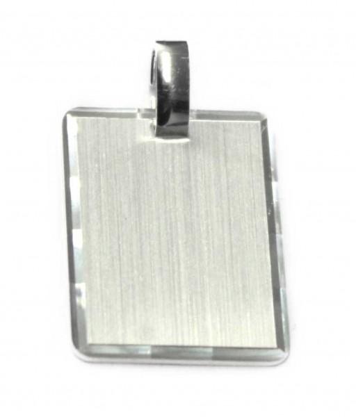 Gravuranhänger aus 925er Sterling Silber
