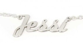 Namenskette 925er Silber mit Wunschnamen