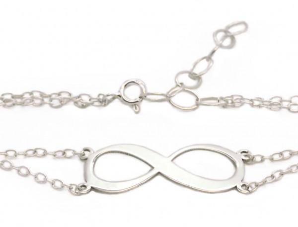 Infinity Armband mit Grvaur MyOwnName