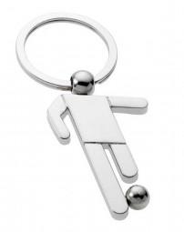 Fußballer Schlüsselanhänger