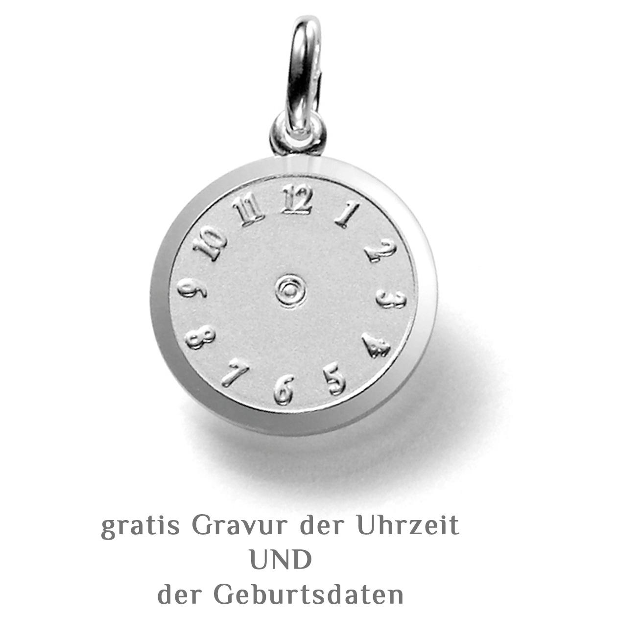 Inkl NEu Kette Taufring mit persönlichen Sternzeichen-925er Sterling Silber