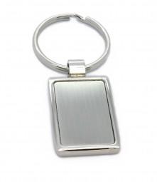 rechteckiger Schlüsselanhänger mit Wunschgravur