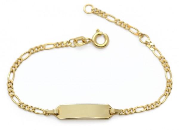 goldenes Babyarmband 925er Sterling Silber MyOwnName