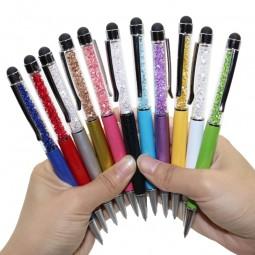 2 in1 Strasskugelschreiber Touch Pen mit Gratis Gravur