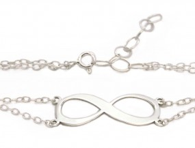 Infinity Armband ~ Namensarmband ~ inkl. Gravur