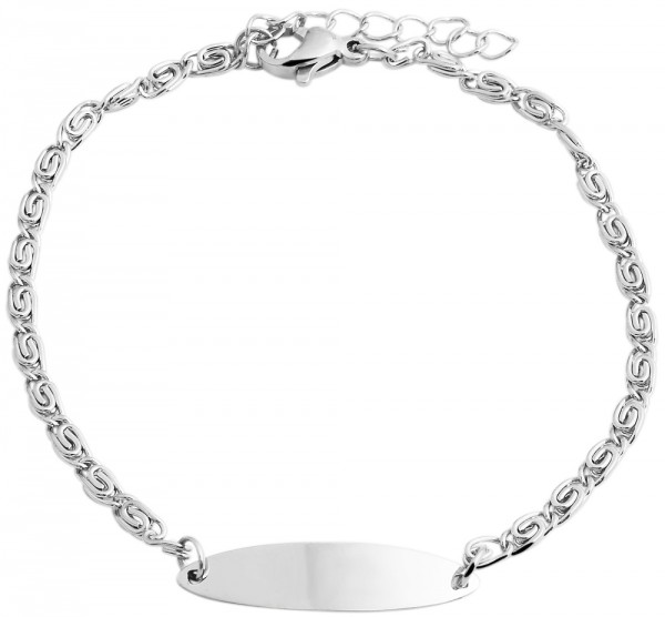 ovales Damenarmband - zart und schlicht